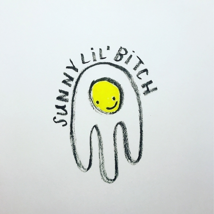 Daily Drawing Day - tryin' sunn - wawawawick | ello