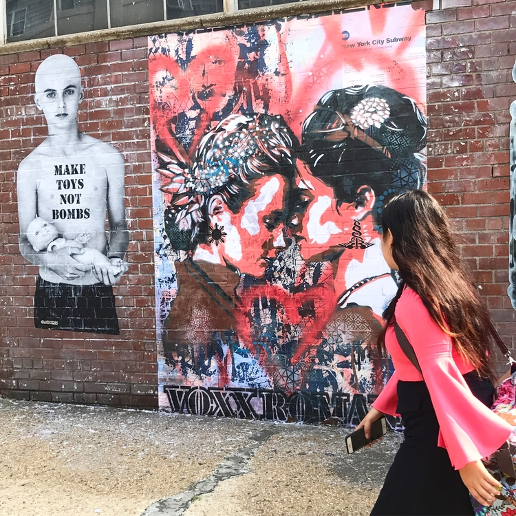 Work Voxx Romana NYC 2017 - greatwallofsavas - voxxromana | ello