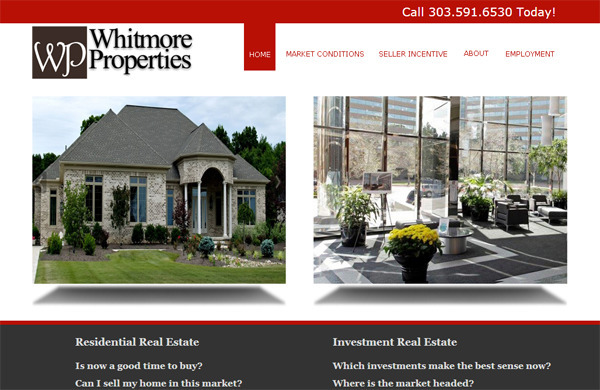 whitmoreproerties, website, realestate - deegibbons | ello