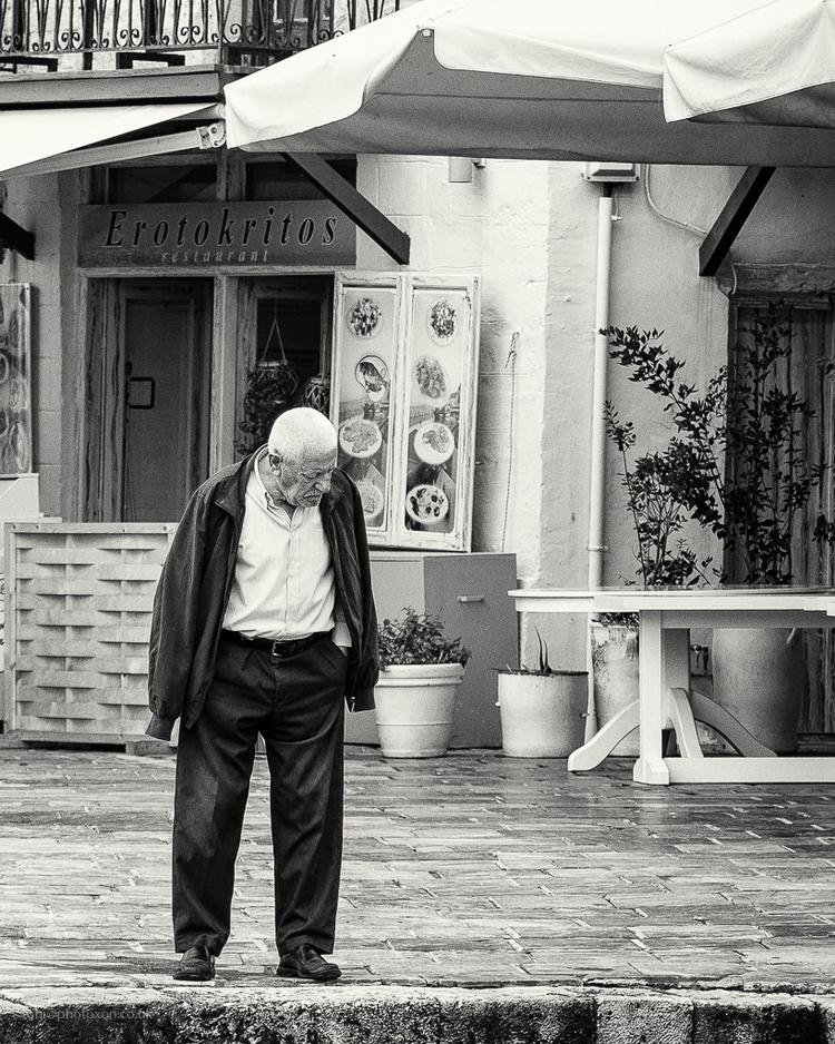 Erotokritos man - Crete, Kriti, stranger - toni_ertl | ello