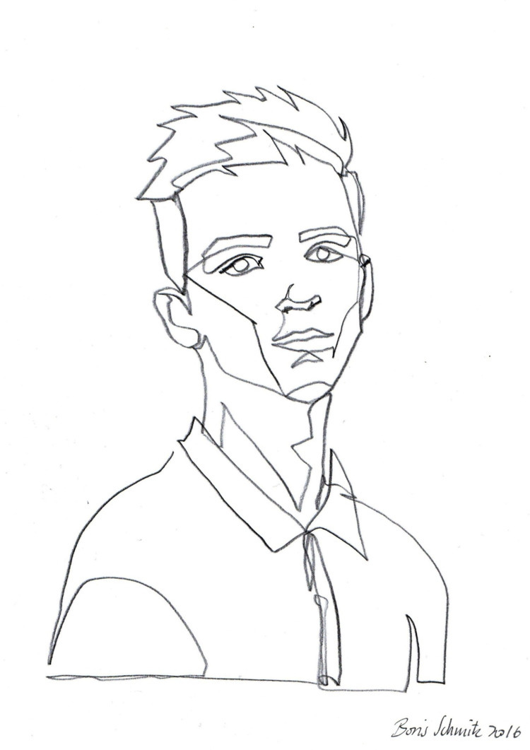 portrait 3 Boris Schmitz German - jlia_nguyen | ello