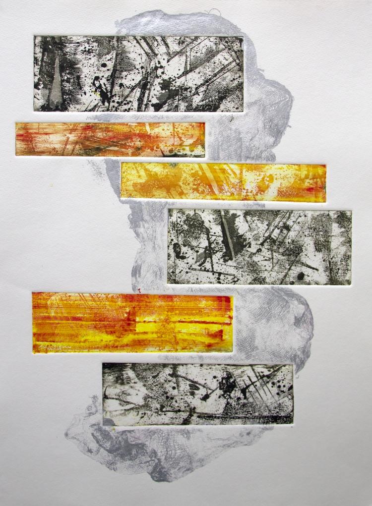 printmaking, print, abstract - elekz   ello