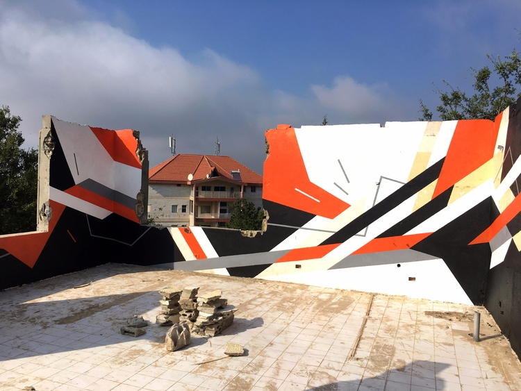create abstract, geometric mura - markmcclurestudio | ello