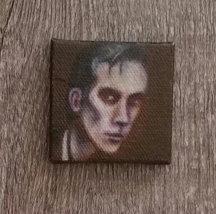 Miniature portrait painting Pet - nora_ | ello
