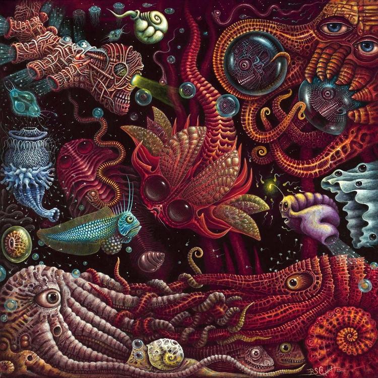 CRUSTACEAPODS ~ 2006 - 24 Acryl - rsconnett | ello