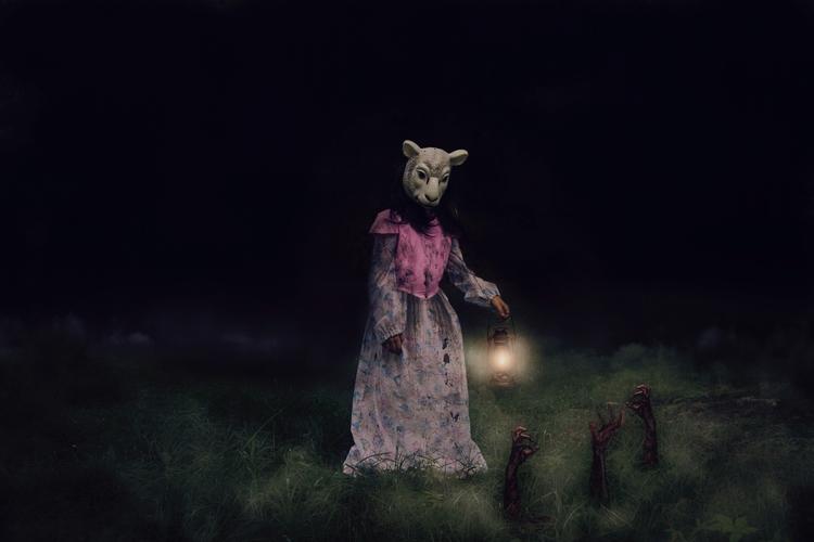 Midnight Garden - chrystalolivero | ello