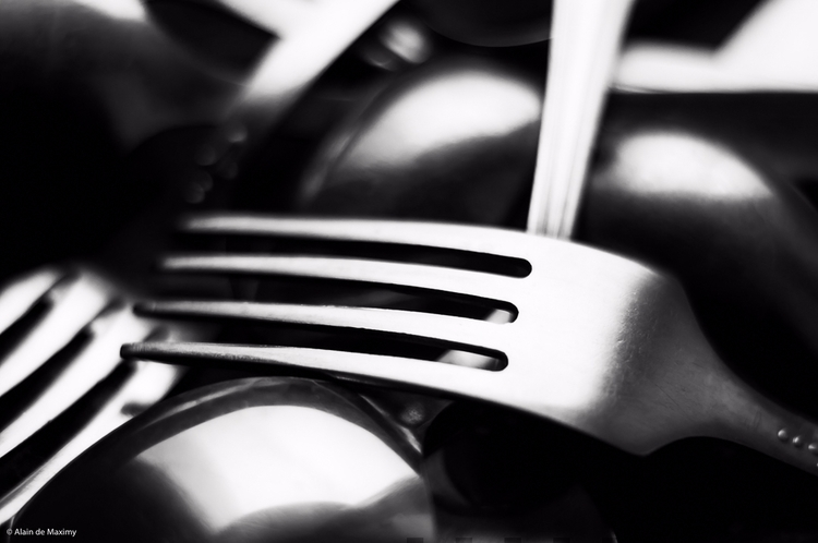 Forks Spoons - photography, blackandwhite - maximy | ello