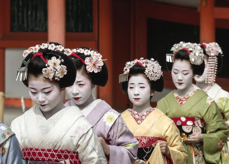 Heian Shrine Resai festival: (a - paulvanderveer | ello