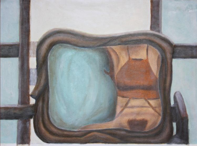 Mirrored, 2017. Oil canvas - airschl | ello