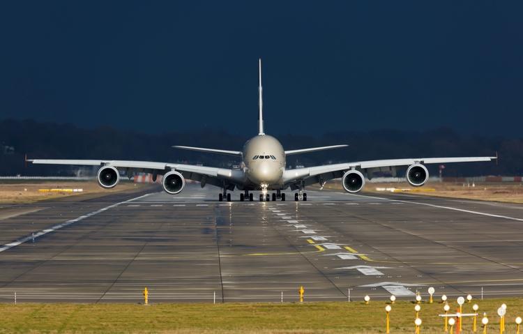 Airbus Finkenwerder Etihad A380 - mathiasdueber | ello