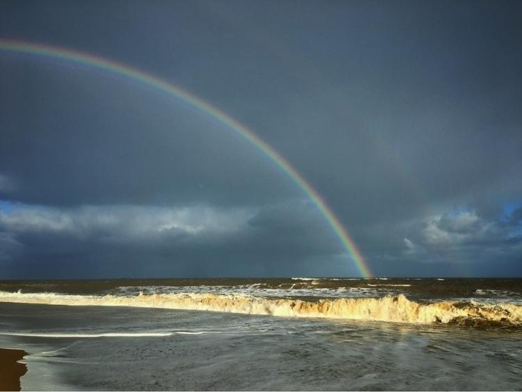 Rainbow sea, Southwold - ocean, seaside - davidhawkinsweeks   ello