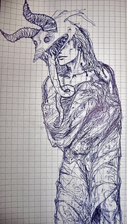 spooky scary sheets doodle - mesencephaleisole | ello
