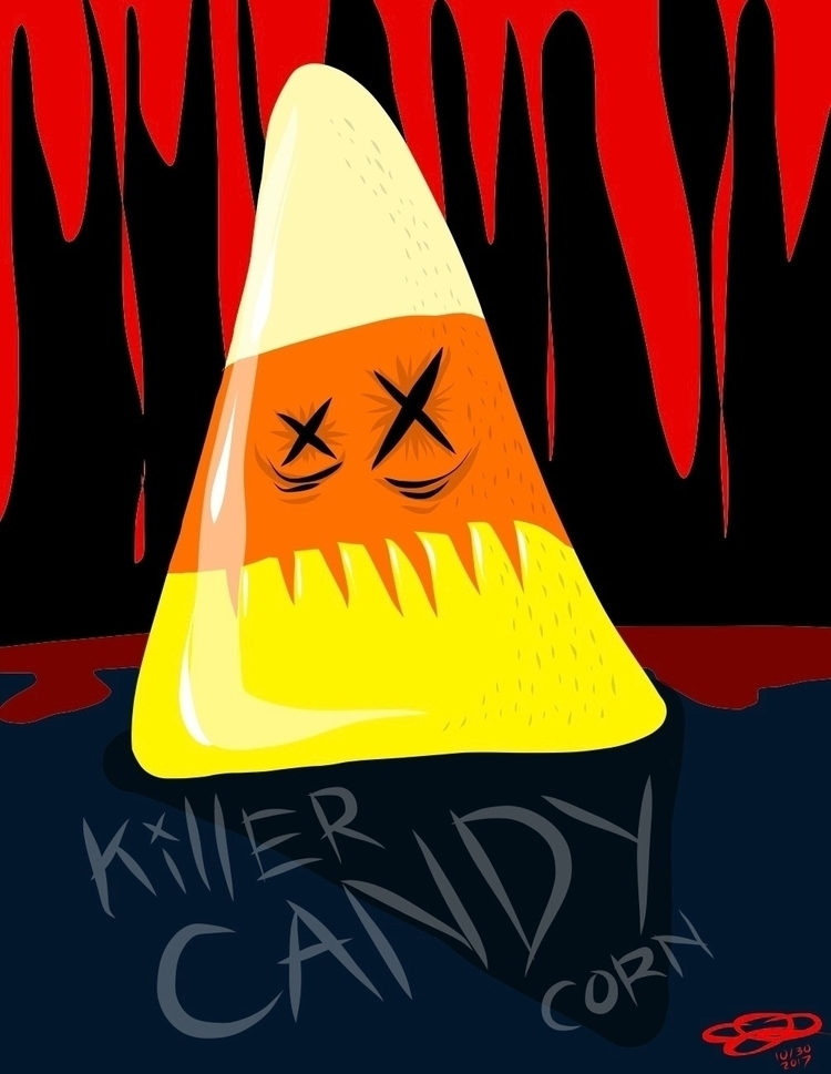 killercandycorn, NationalCandyCornDay - madmelo | ello