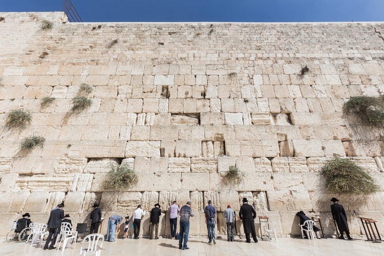 Prayer Western Wall day Yom Kip - desktopofsamuel | ello
