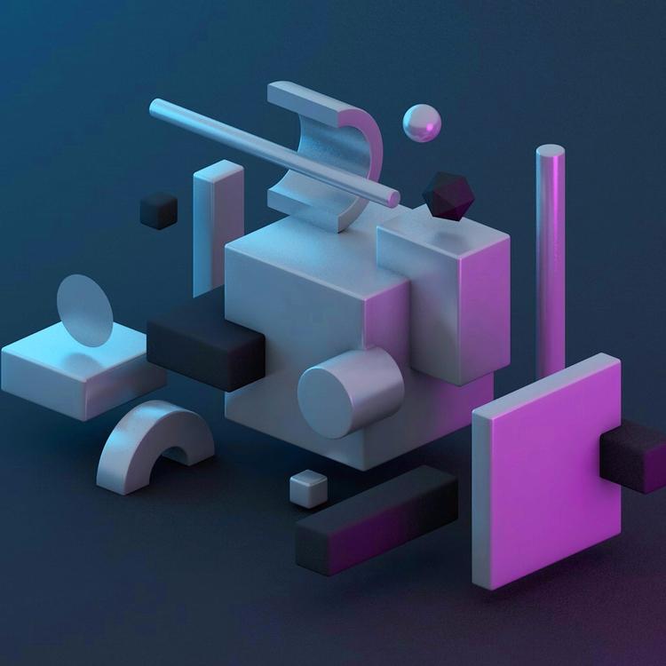 Abstract Installation - 3d, c4d - minimumpixels | ello