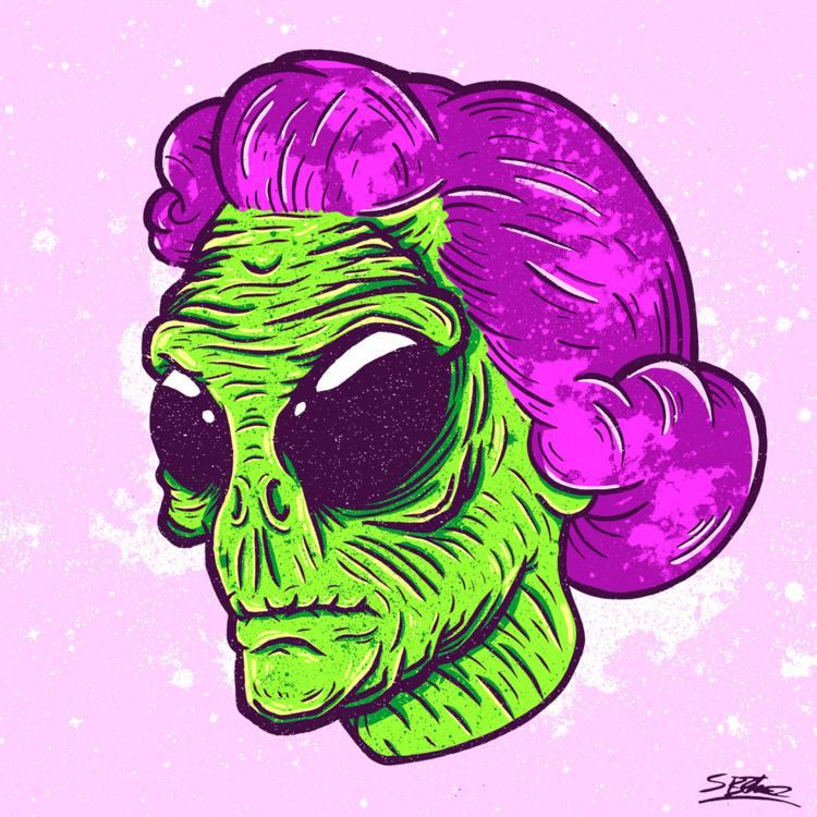 Alien Head! samuelbthorne.com I - samuelbthorne | ello