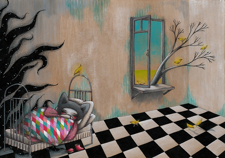 Illustration №1 book Silent Adv - sashano | ello