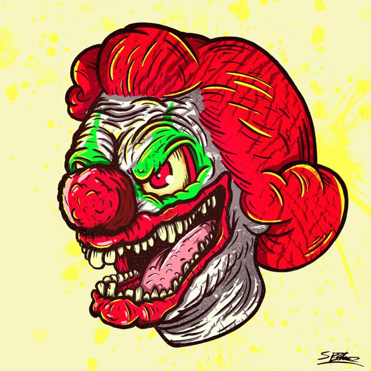 Clown Face! samuelbthorne.com I - samuelbthorne | ello