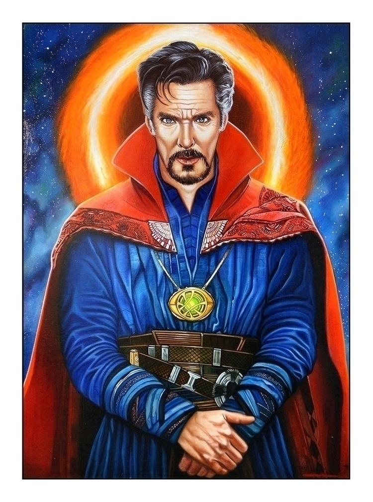 Doctor Strange Acrylics, Oils C - christianromani | ello