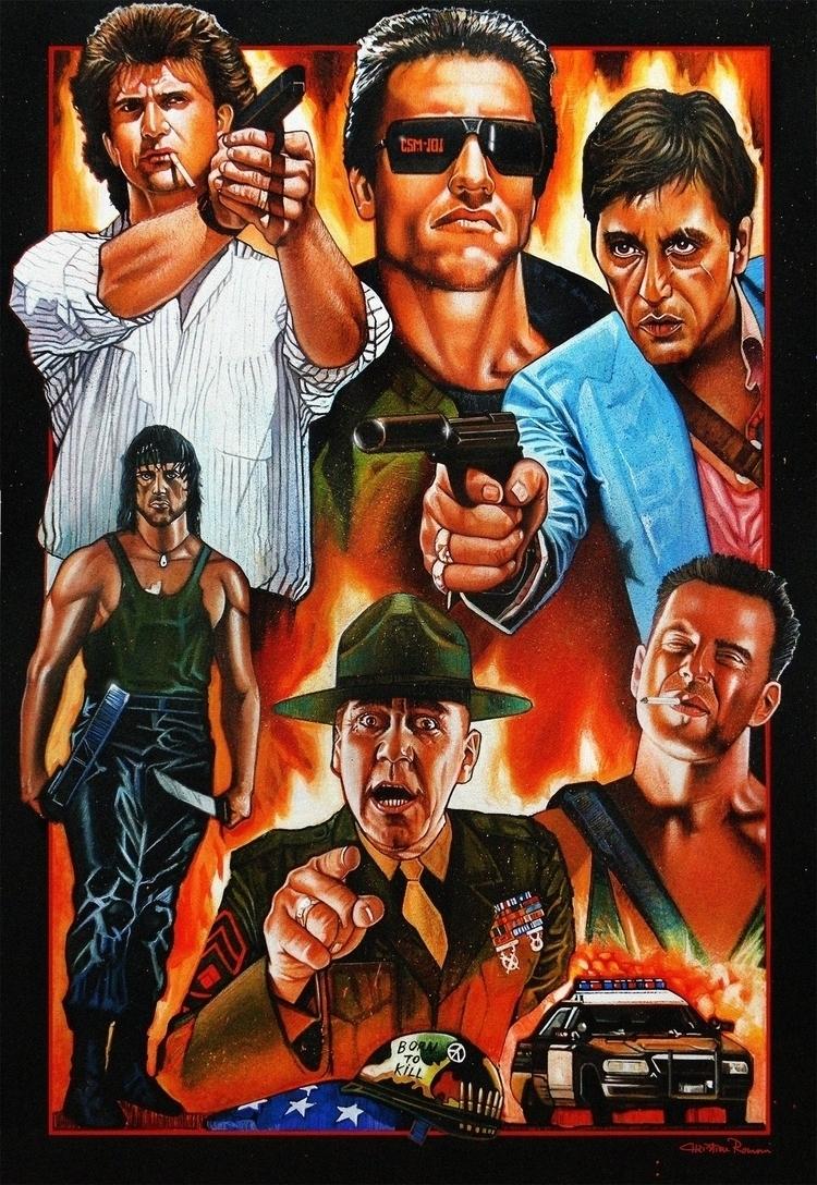 'Movies Action (Version Colored - christianromani   ello