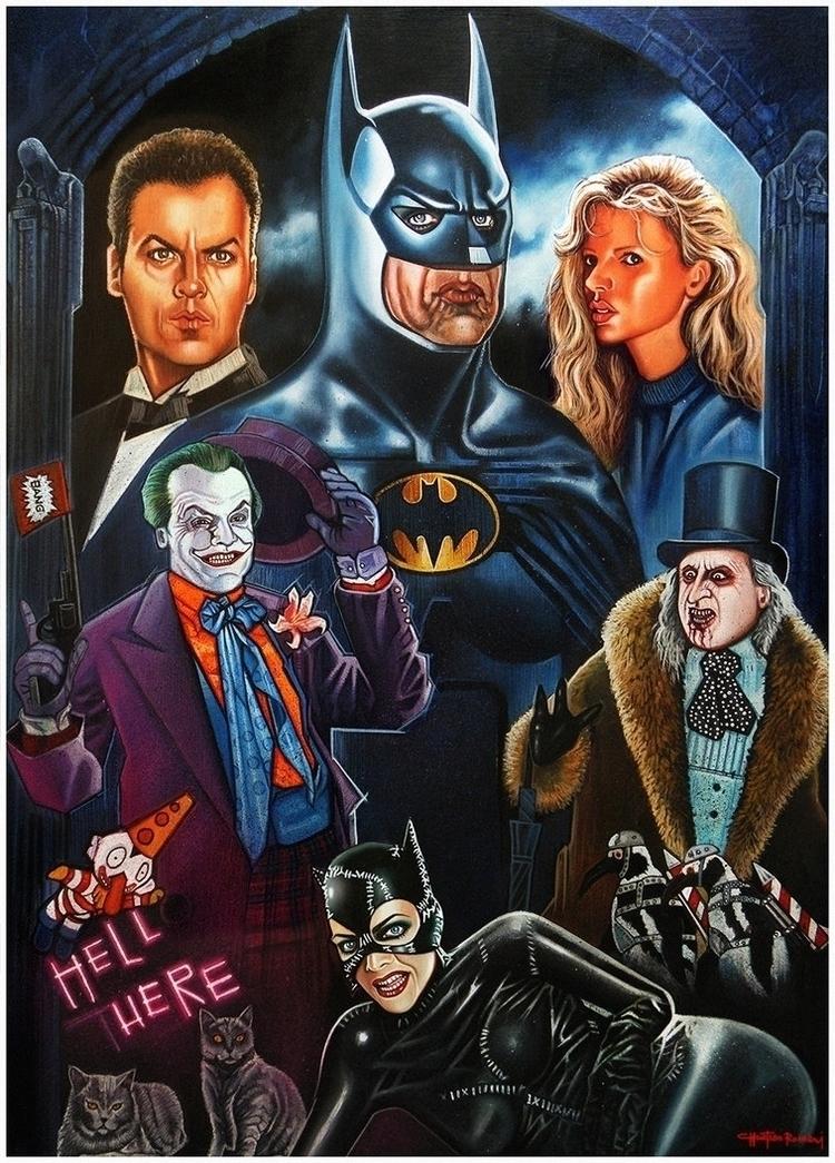 BATMAN (Tim Burton Movies) Temp - christianromani | ello