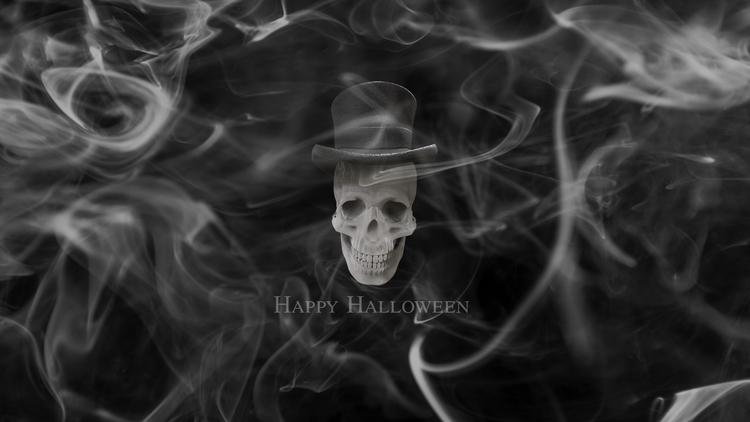 Happy Halloween - wallpaper, background - kut-n-paste | ello
