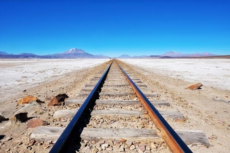 Die Bahnstrecke nach Chile. Gre - weltfarben | ello