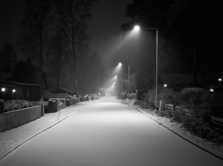 Snowy Eve - photography, landscape - anttitassberg | ello
