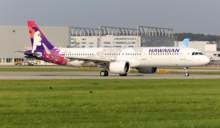 finkenwerder, airbus, a350, hawaiian - mathiasdueber | ello