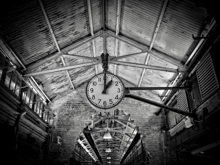 Clock Chelsea Market York City - nikonkenny | ello