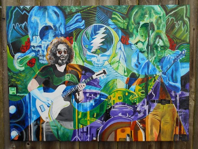 Grateful Dead Englishtown ~ Lab - kevinjcooperartwork | ello