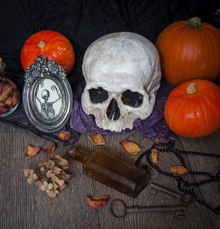 Happy Halloween - autumn, HappyHalloween - dustyburrow | ello