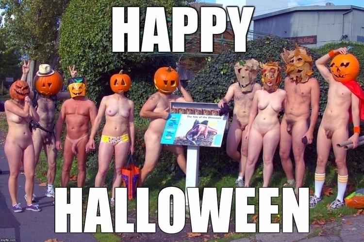 Happy Halloween 2017 - Nudism, Nudity2017 - bepa | ello