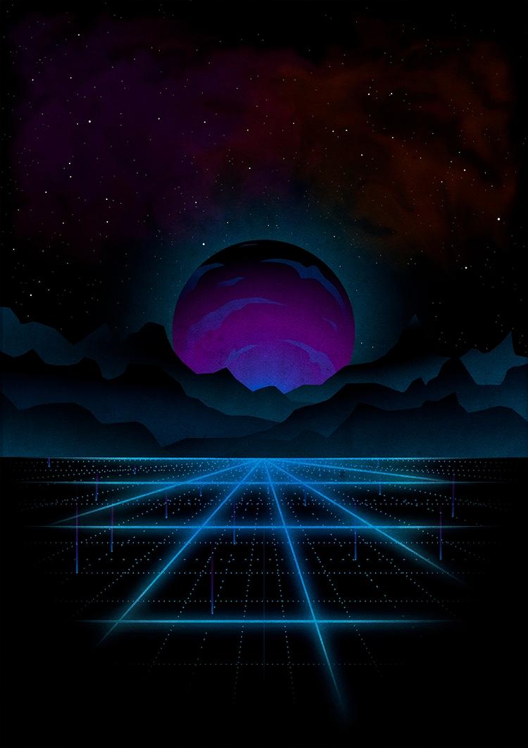 80s inspired - retrowave, synthwave - juliusllopis | ello