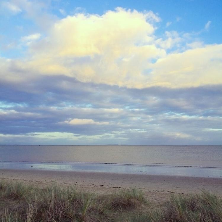 sea mirrors yellow clouds inten - estelleclarke   ello