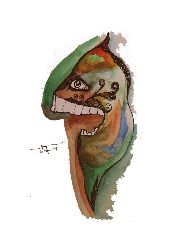 illustration, madman - duyguvatan | ello