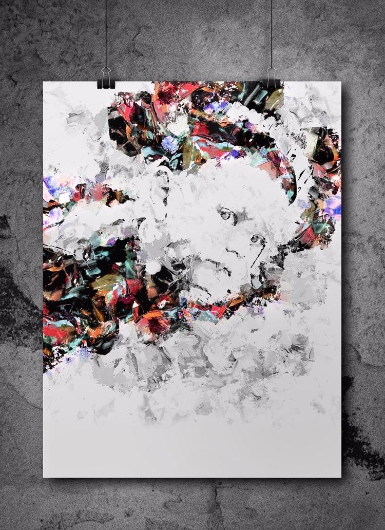 Digital art Adis Čengić. Submit - riverpixels | ello