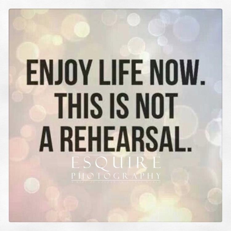 Enjoy life rehearsal - besomebody - esquirephotography | ello