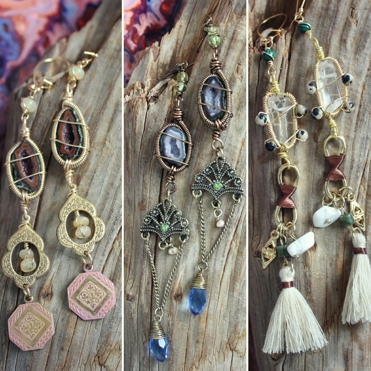 earrings shop!! amazing Tabasco - moongoddessvibes | ello