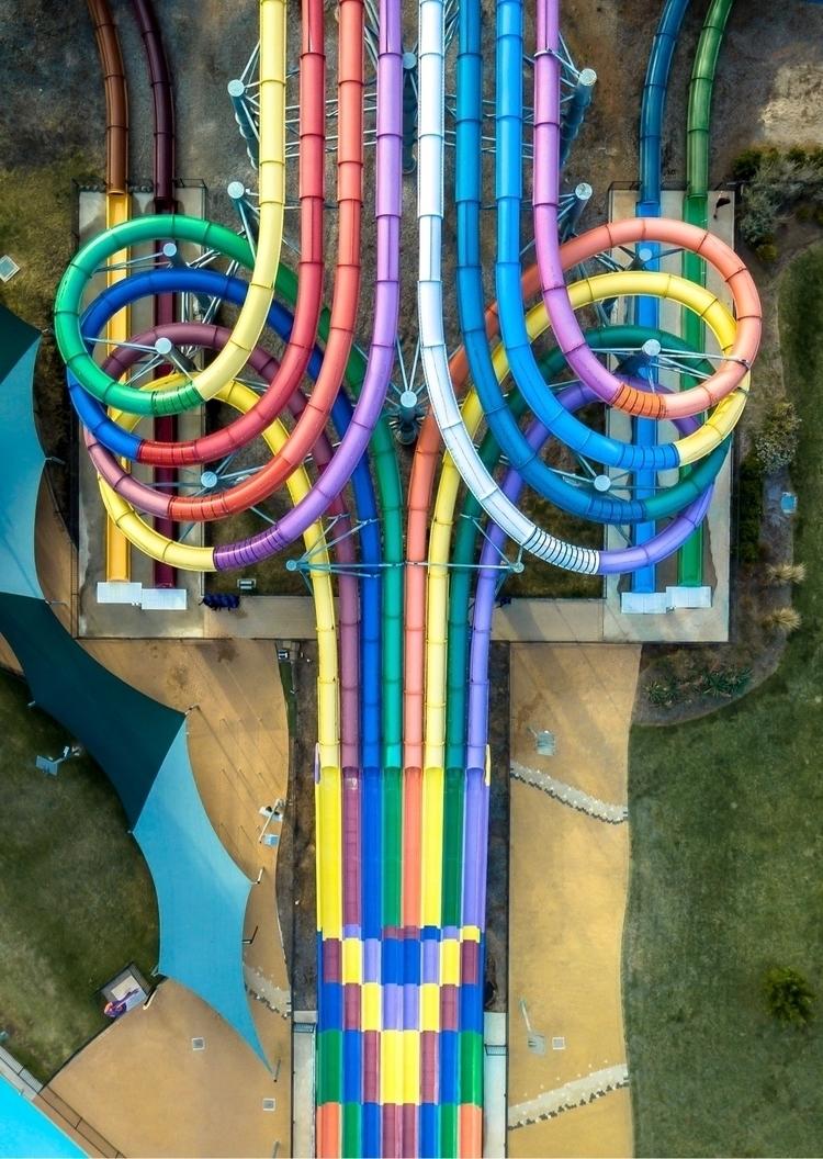 adrenaline rainbow - droneinspo | ello