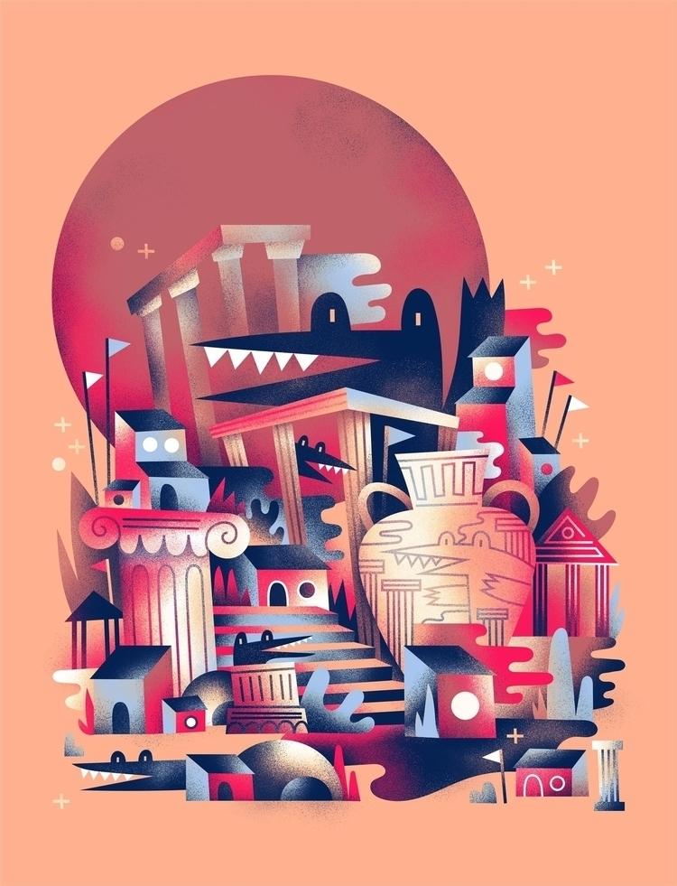 Based tiny doodle put colors Fr - arenvandenburgh | ello