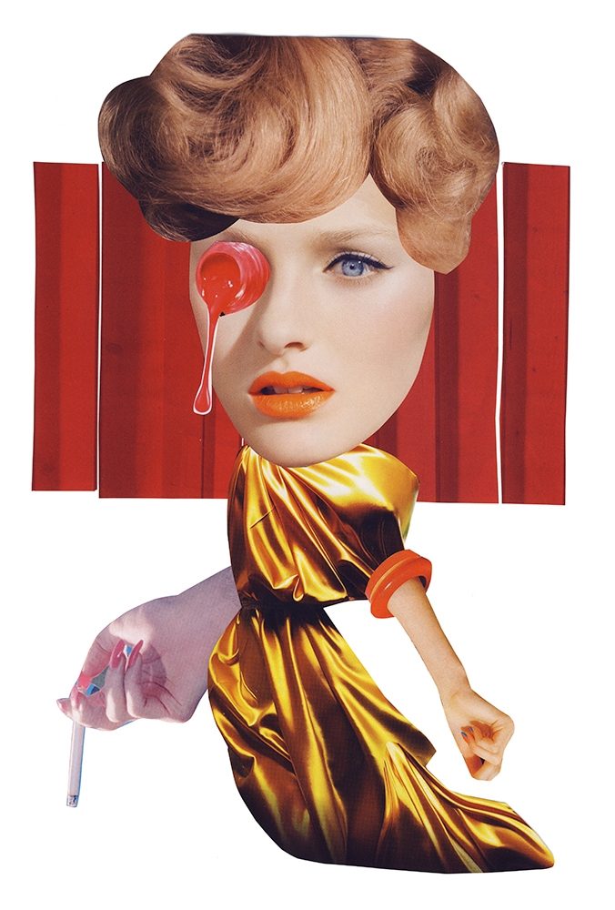 Buy Prints - collage, fashion, handmade - itslucamainini | ello