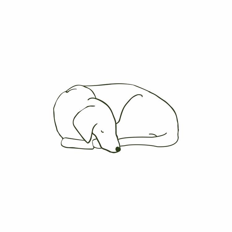 sleeping dog - emmaphilip | ello