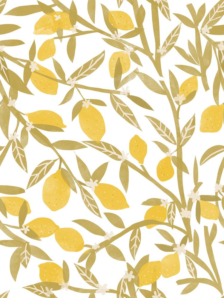 Lemon Pattern, drink lemonade y - chotnelle | ello