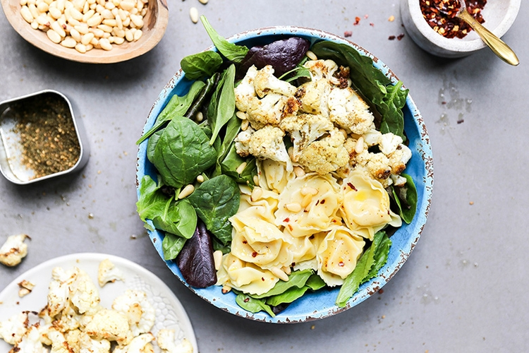 Za'atar Roasted Cauliflower Tor - floatingkitchen | ello