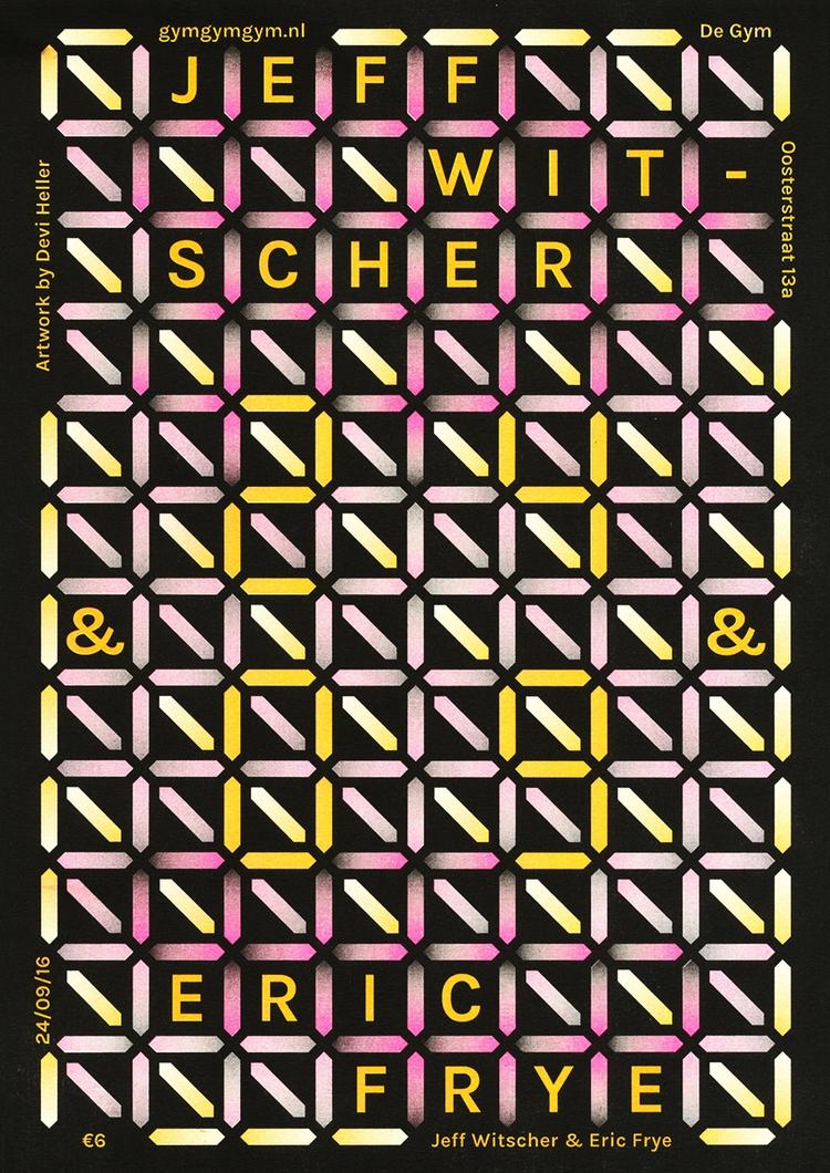 Poster design gig De Gym, Groni - deviheller | ello