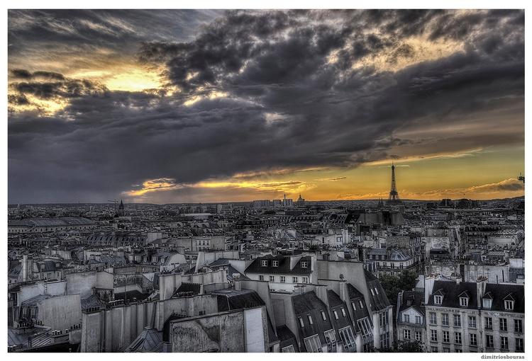 Paris - France, cityscape, landscape - dbouras | ello