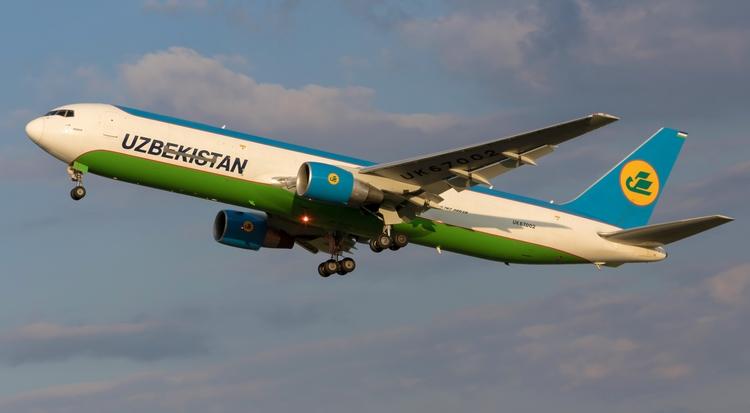 uzbekistan, uk67002, cargo, boeing - mathiasdueber | ello