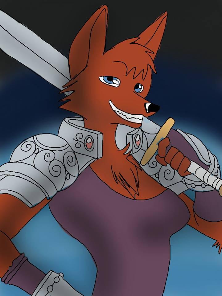 Vixen Knight - brandon_omega-x | ello