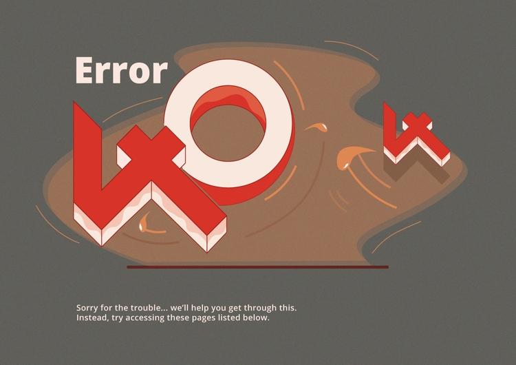 Error - illustration, digitalillustration - endiigosh | ello